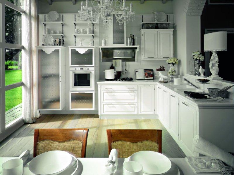Cucinedeimastri outlet - Cucina muratura bianca ...