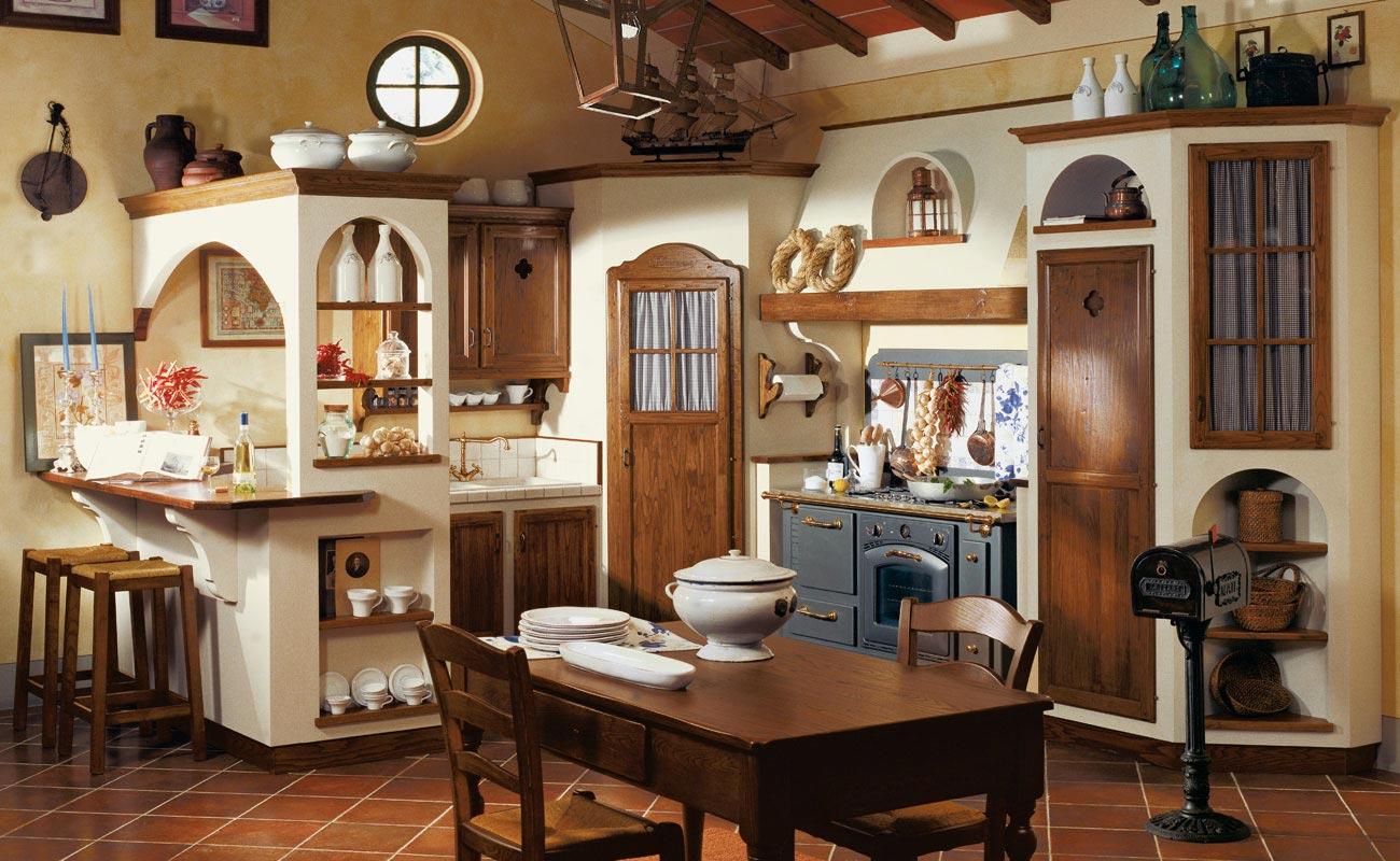 Cucine componibili country e cucine rustiche le cucine dei mastri - Cucine country immagini ...