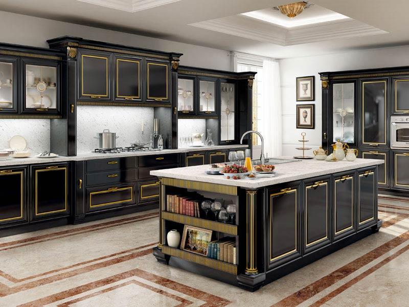 Le cucine dei mastri - stile luxury